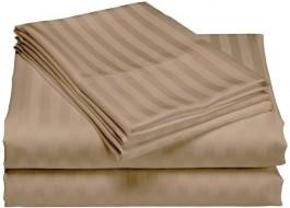 Cearceaf de pat damasc 240x260cm, cappucino