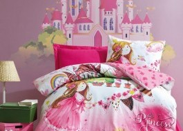 Cotton Box - Lenjerie pat 1 persoana bumbac 100 ranforce - Princess - Pink