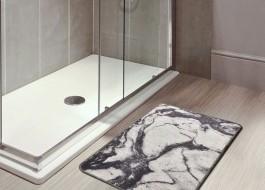 Covoras baie 40x60 cm, Alessia Home, Mermer DJT