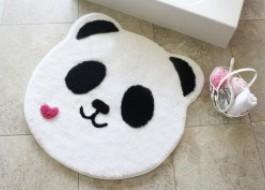 Covoras baie 90cm, Alessia Home, Panda Shape