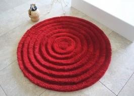 Covoras baie 90cm, Alessia Home, Round - Red