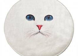 Covoras de baie, Alessia Home, Blue Eyes DJT, 100 cm