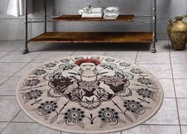 Covoras de baie, Alessia Home, Frida Round, 100 cm