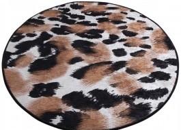 Covoras de baie, Alessia Home, Leopard DJT, 100 cm