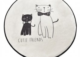 Covoras de baie, Alessia Home, Little Cats DJT, 100 cm