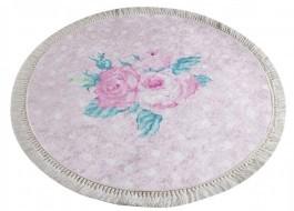 Covoras de baie, Alessia Home, Monet DJT - Pink, 100 cm