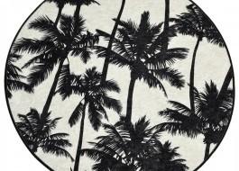 Covoras de baie, Alessia Home, Palm DJT, 100 cm