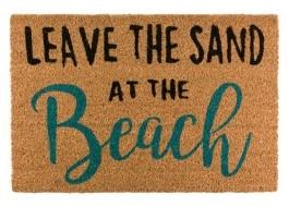 Covoras intrare din fibra de nuca de cocos, 40x60cm, Beach