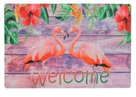 Covoras intrare 40x60cm, Flamingo