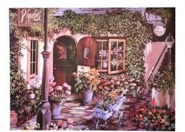 Covoras intrare 40x60cm, Flowers