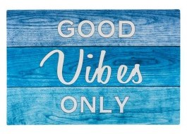 Covoras intrare 40x60cm, Good Vibes Only