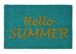 Covoras intrare din fibra de nuca de cocos, 40x60cm, Hello Summer