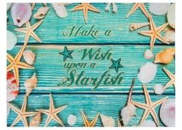Covoras intrare 40x60cm, Starfish