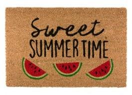 Covoras intrare din fibra de nuca de cocos, 40x60cm, Sweet Summer Time