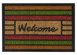 Covoras intrare, 40x60cm, Welcome Multicolor