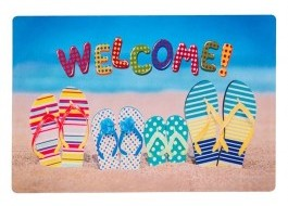 Covoras intrare 40x60cm, Welcome Summer