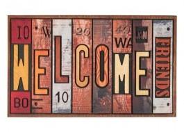 Covoras intrare 45x75cm, Welcome Friends