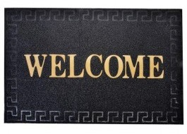 Covoras intrare cu imprimeu 60x90cm, Welcome