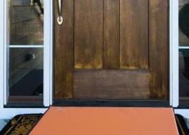 Covoras intrare pt dezinfectare 50x70cm Orange
