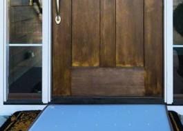 Covoras intrare pt dezinfectare 60x70cm Albastru
