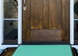 Covoras intrare pt dezinfectare 60x70cm Verde
