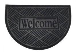 Covoras intrare semicerc, 40x60 cm, Welcome