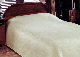 Cuvertura jacquard bambus 160x230cm, Bamboo Cream