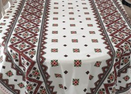 Fata de masa bumbac 100% 150x150cm, Motive Traditionale