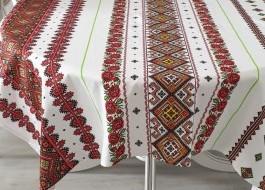 Fata de masa bumbac 100% 180x150cm, Motive Traditionale V01
