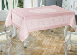Fata de masa Tropik Home - Princely Pano, 150x220cm, roz
