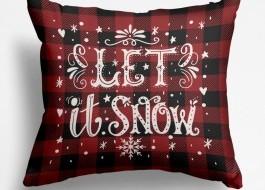 Fata perna, Cotton Club, 45x45 cm, Snowfall