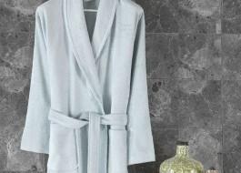 Halat de baie bambus 100%,Class Home Collection, marime XL, Bamboo Ice Blue