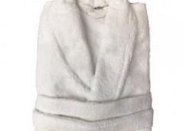 Halat de baie bumbac 100%  marime XL , culoare alb
