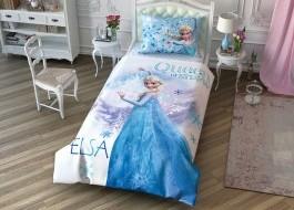 Lenjerie de pat 1 persoana,TAC Disney 3 piese Frozen 2