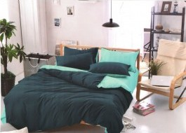 Lenjerie de pat albastru cu bleu MX79