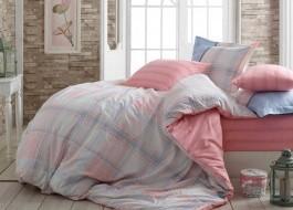 Lenjerie de pat bumbac 100% poplin, Hobby Home, Carmela - Pink