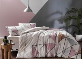Lenjerie de pat cu elastic pentru saltea de 160x200cm, bumbac 100% ranforce, TAC, Marvel