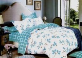 Lenjerie de pat cu elastic ptr saltea de 140x200cm , 140-B22