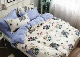 Lenjerie de pat cu elastic ptr saltea de 140x200cm , 140-B32