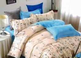 Lenjerie de pat cu elastic ptr saltea de 140x200cm , 140EL-Adalie