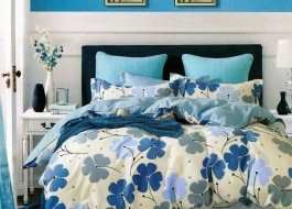 Lenjerie de pat cu elastic ptr saltea de 140x200cm , 140EL-Diane