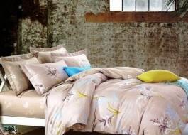 Lenjerie de pat cu elastic ptr saltea de 140x200cm , 140EL-Evelia