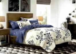 Lenjerie de pat cu elastic ptr saltea de 140x200cm , 140EL-Ruby
