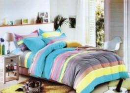 Lenjerie de pat cu elastic ptr saltea de 160x200cm , 160-B23