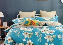 Lenjerie de pat cu elastic ptr saltea de 160x200cm , 160EL-Berniss