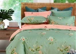 Lenjerie de pat cu elastic ptr saltea de 160x200cm , 160EL-Desire