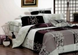 Lenjerie de pat cu elastic ptr saltea de 160x200cm , 160EL-Elegance