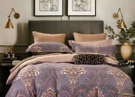 Lenjerie de pat cu elastic ptr saltea de 160x200cm , 160EL-Leonie