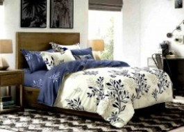 Lenjerie de pat cu elastic ptr saltea de 160x200cm , 160EL-Ruby