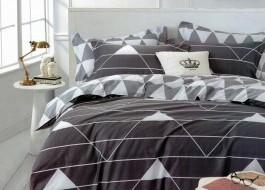Lenjerie de pat cu elastic ptr saltea de 160x200cm , 160EL-Zuria